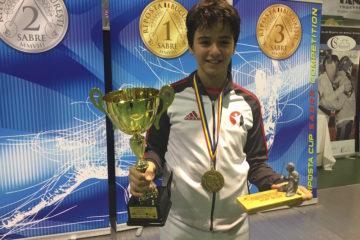 Riposta Cup'ta Şampiyonluk Sinan Par'ın