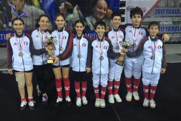 Uluslararası Çocuk Kupası'nda Çifte Şampiyonluk Yaşadık