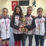 Minik Kız Kılıç Takımımız Türkiye Şampiyonu