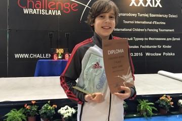 Kerem Çağlayan Wroclaw'da Şampiyon Oldu